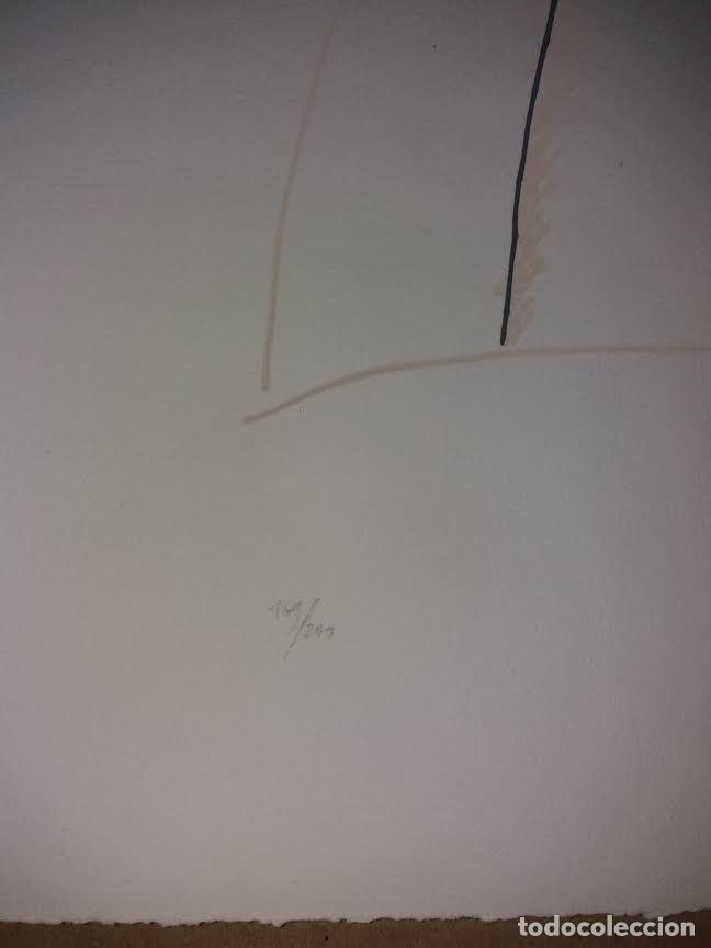 Arte: TEORIAS DE IBIZA DE BECHTOLD ERWIN. OBRA GRAFICA. SERIGRAFIA 38 X 28,5 CM. FIRMADA Y NUMERADA. - Foto 5 - 180191492
