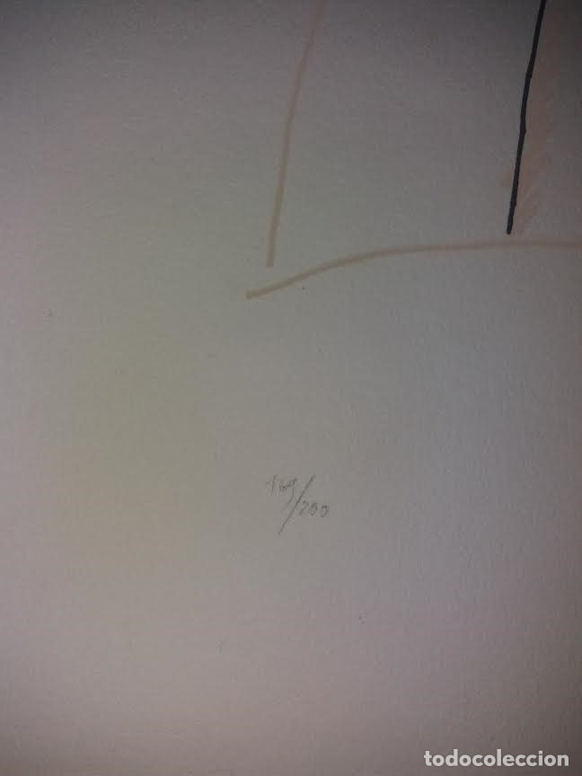Arte: TEORIAS DE IBIZA DE BECHTOLD ERWIN. OBRA GRAFICA. SERIGRAFIA 38 X 28,5 CM. FIRMADA Y NUMERADA. - Foto 6 - 180191492