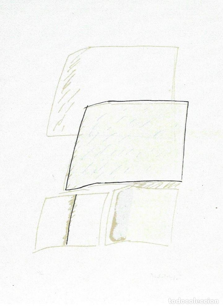 Arte: TEORIAS DE IBIZA DE BECHTOLD ERWIN. OBRA GRAFICA. SERIGRAFIA 38 X 28,5 CM. FIRMADA Y NUMERADA. - Foto 7 - 180191492