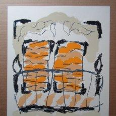 Arte: ALBERTO CORAZÓN CLIMENT (MADRID 1942) SERIGRAFÍA DE 43X31CMS, FIRMADA LÁPIZ Y 138/295 EJ. PERFECTA!. Lote 180183480
