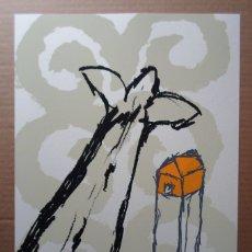 Arte: ALBERTO CORAZÓN CLIMENT (MADRID 1942) SERIGRAFÍA DE 43X31CMS, FIRMADA LÁPIZ Y 138/295 EJ. PERFECTA!. Lote 180251508