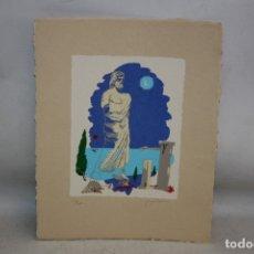 Arte: RAMÓN PUJOLBOIRA. SERIGRAFIA CON TIRAJE 113/160. COMPOSICIÓN. Lote 180330376