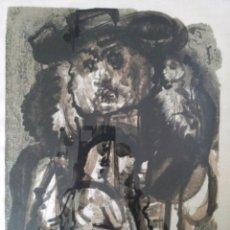 Arte: ÁLVARO DELGADO (1922 - 2016) SERIGRAFIA SOBRE LINO PURO. NUMERADA 108/300 Y FIRMADA. Lote 180400228