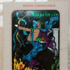 Arte: SAGITARIO CRISTAL SERIGRAFIADO CREAFIC. Lote 182794611