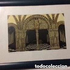 Arte: SERIGRAFÍA ARTÍSTICA. OBRA ORIGINAL SERIADA RENZO MAGNASCO. FIRMADA/NUMERADA POR PINTOR. DÉCADA 70. . Lote 182966115
