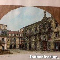 Arte: SERIGRAFÍA ARTÍSTICA. OBRA ORIGINAL SERIADA RENZO MAGNASCO. FIRMADA/NUMERADA POR PINTOR. DÉCADA 70. . Lote 182966392