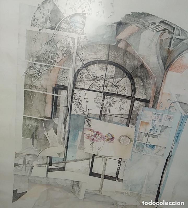 Arte: SERIGRAFIA FIRMADA, AUTOR A IDENTIFICAR, VER FOTOS. - Foto 3 - 182981777