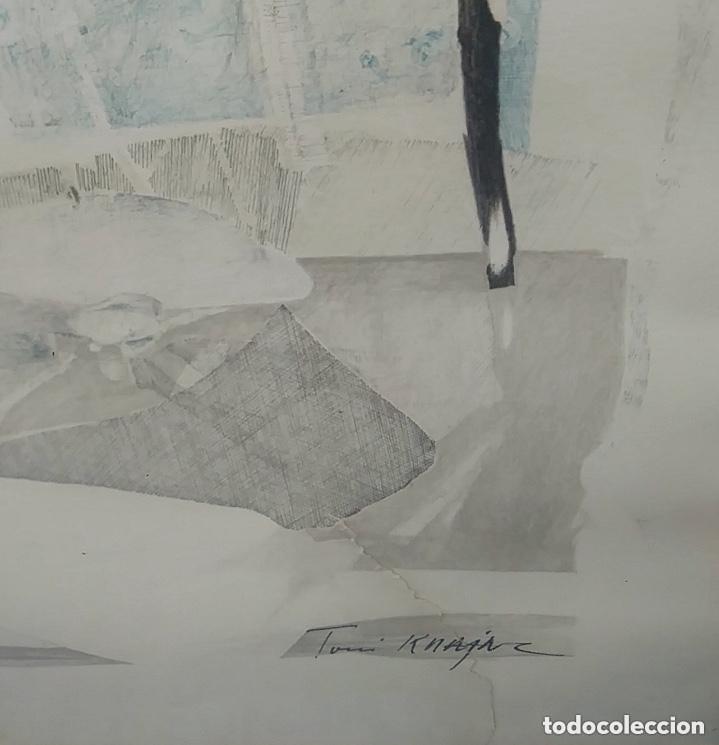 Arte: SERIGRAFIA FIRMADA, AUTOR A IDENTIFICAR, VER FOTOS. - Foto 4 - 182981777