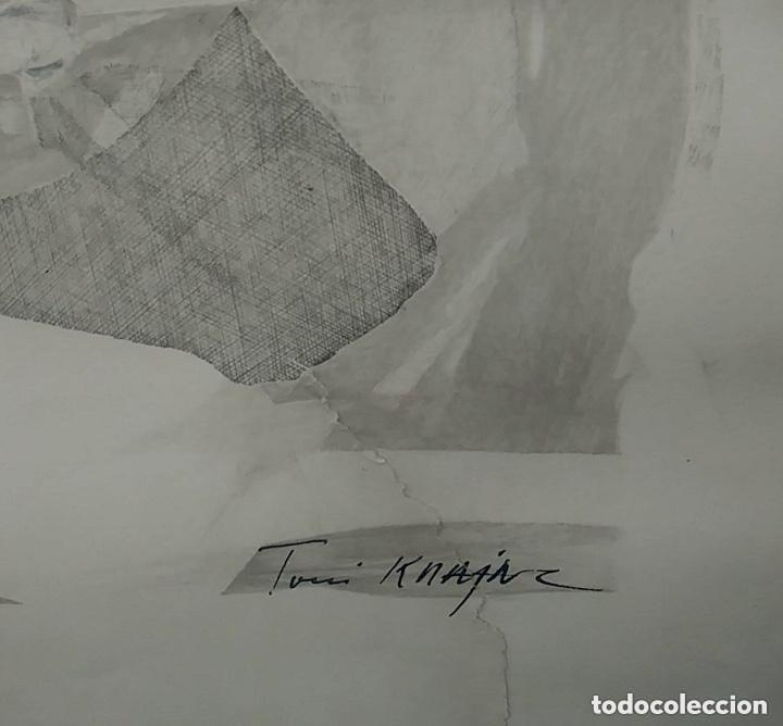 Arte: SERIGRAFIA FIRMADA, AUTOR A IDENTIFICAR, VER FOTOS. - Foto 8 - 182981777