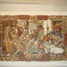 """Arte: ALBERTO GIRONELLA, MÉXICO,1929-1999,""""EL BANQUETE DE LOS MENDIGOS"""".SERIGRAFIA33/90.FIRMADA Y FECHADA. Lote 183262147"""