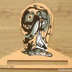 Arte: ANTONIO SAURA. PERCHA DE COLOR CARNE. EDICIONES DIART. MADRID. 1982. 34X41 CM. SERIGRAFÍA.. Lote 183427956