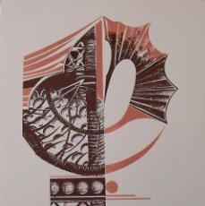 Arte: MARGARIDA MARCH. SERIGRAFÍA ABSTRACCIÓN. FIRMADA A MANO Y NUMERADA 77/180. 1988. 33X25 CM.. Lote 183474802