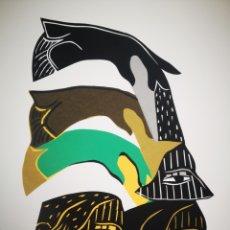 Arte: LOTE DE MOISES FINALÉ SERIGRAFIA SERIE LIMITADA. Lote 183544692