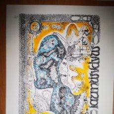 Arte: LOTE SERIGRAFIA DE M. CASTELLANOS. Lote 183545967