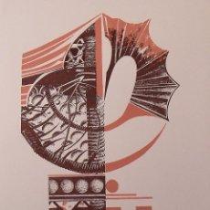 Arte: MARGARIDA MARCH. SERIGRAFÍA ABSTRACCIÓN. FIRMADA A MANO Y NUMERADA 20/180. 1988. 33X25 CM.. Lote 183567867