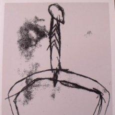 Arte: DOMÈNEC MONTSERRAT. SERIGRAFÍA HOMBRE. SIN FIRMAR Y NUMERADA 20/180. 1988. 33X25 CM. . Lote 183568112