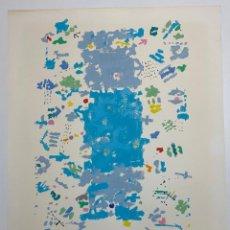 Arte: MANUEL HERNANDEZ MOMPÓ , SERIGRAFIA ORIGINAL FIRMADA DEL AÑO 1984. Lote 184102457