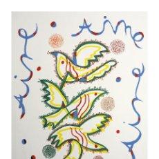 Arte: SERIGRAFÍA DE RAFAEL ALBERTI. Lote 184239771