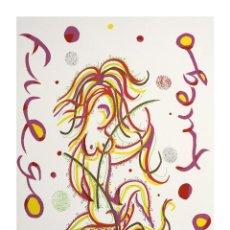 Arte: SERIGRAFÍA DE RAFAEL ALBERTI. Lote 184239953