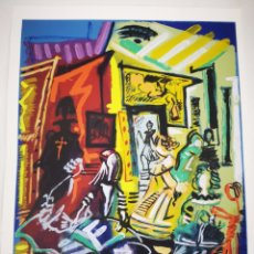 Arte: SERIGRAFIA ARTISTICA OBRA BARREIRO. Lote 184579748