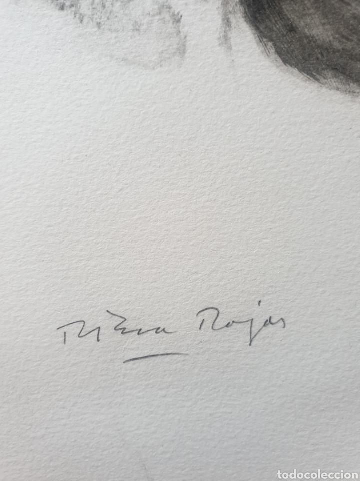 Arte: Roc Riera Rojas (Barcelona, 1913-1992) - Caballos.Prueba de Autor.Firmada. - Foto 6 - 184905942
