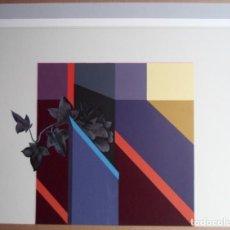 Arte: AGUSTÍN DE CELIS GUTIÉRREZ (CANTABRIA, 1932) SERIGRAFÍA 49X63 FIRMADA Y NUMERADA /275. Lote 185701528