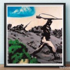 Arte: LAMINA - EQUIPO REALIDAD - BRIGADAS IINTERNACIONALES,1973-DE LA EXPOSICIÓN DE 1993 EN IVAM. 65,5X65. Lote 186192862