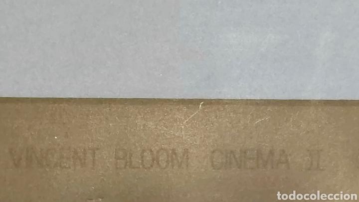 Arte: SERIGRAFIA AÑOS 80 GORDO Y EL FLACO. VINCENT BLOOM CINEMA II. SILVIO ZAMORANI EDITORE. - Foto 5 - 186453255