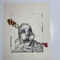 Arte: ENRIQUE BRINKMANN , SERIGRAFIA DEL AÑO 1976 , MÁLAGA . Lote 188559190
