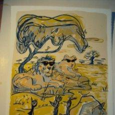 Arte: SERIGRAFIA JAVIER MARISCAL, FIRMADA NUMERADA. Lote 190737201
