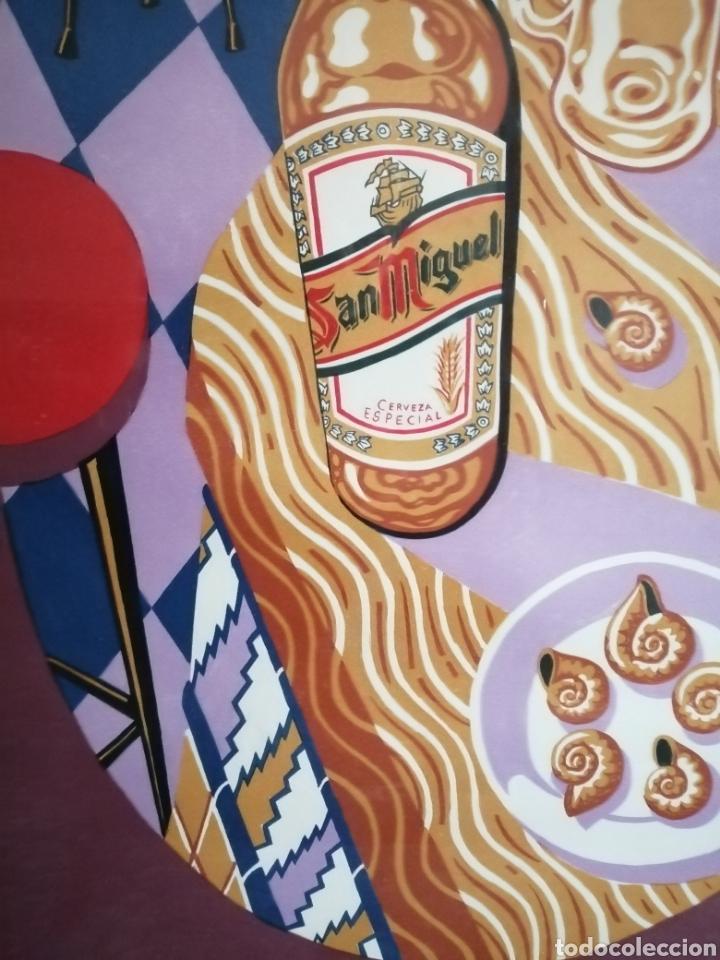 Arte: Borja Guijarro (Madrid 1963). Serigrafia firmada y Numerada. - Foto 3 - 191261822