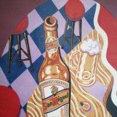 Arte: BORJA GUIJARRO (MADRID 1963). SERIGRAFIA FIRMADA Y NUMERADA.. Lote 191261822