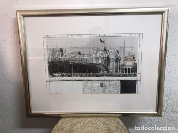 GRABADO/ SERIGRAFÍA FIRMADA POR CHRISTO JAVACHEFF (Arte - Serigrafías )