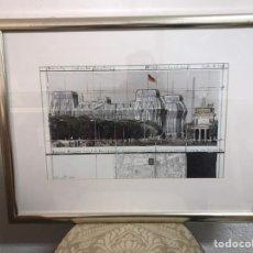 Art: GRABADO/ SERIGRAFÍA FIRMADA POR CHRISTO JAVACHEFF. Lote 191711081