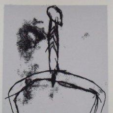 Arte: DOMÈNEC MONTSERRAT. SERIGRAFÍA HOMBRE. FIRMADA A MANO Y NUMERADA 7/180. 1988. 33X25 CM.. Lote 193112862
