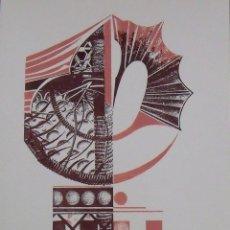 Arte: MARGARIDA MARCH. SERIGRAFÍA ABSTRACCIÓN. FIRMADA A MANO Y NUMERADA 7/180. 1988. 33X25 CM.. Lote 193113473