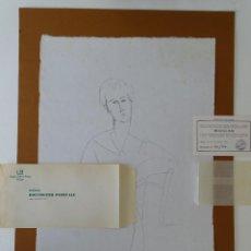 Arte: AMEDEO MODIGLIANI CON CERTIFICADO DE AUTENTICIDAD. Lote 193333063