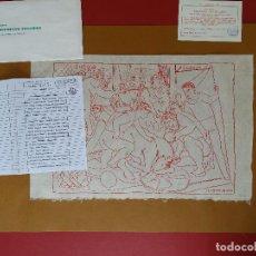 Arte: PABLO PICASSO CON CERTIFICADO DE AUTENTICIDAD. Lote 193333338