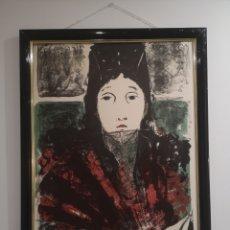 Arte: MARIA TERESA PERIS ESTRADA . 55X74CM ENMARCADO. Lote 193430051