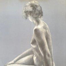 Arte: LLUISA SALLENT (1934) - DESNUDO.PRUEBA DE AUTOR.FIRMADA.ENRIQUECIDA.. Lote 193442971