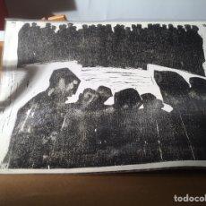 Arte: IBARROLA, SERIGRAFLIA NUMERADA Y FIRMADA, MEDIDAS 72 X 50 CM. Lote 193760783
