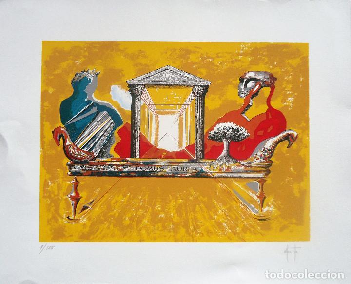 GALICIA.CORUÑA.NOIA. ALFONSO COSTA BEIRO SERIGRAFIA 9/125 MEDIDAS 65X80CM. (Arte - Serigrafías )