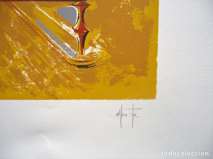 Arte: GALICIA.CORUÑA.NOIA. ALFONSO COSTA BEIRO SERIGRAFIA 9/125 MEDIDAS 65X80CM. - Foto 3 - 194133347