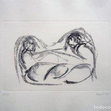 Arte: GALICIA.OURENSE.ACISCLO MANZANO. GRABADO 27/60 MEDIDAS 53X70CM.. Lote 194133743