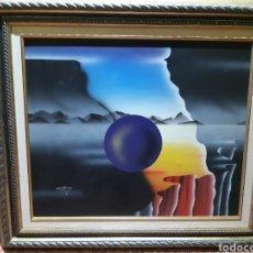 Arte: PINTURA ABSTRACTA CONFIRMA DE PINTOR. Lote 194225943