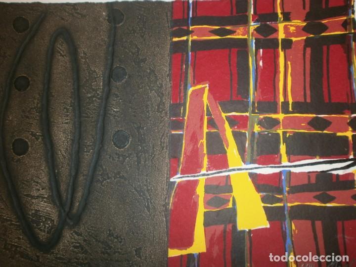 Arte: Josep Niebla grabado serigrafía - Africa - firmado y numerado 23/30 medida 30 X 21,5 cm. - Foto 3 - 194389733