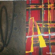 Arte: JOSEP NIEBLA GRABADO SERIGRAFÍA - AFRICA - FIRMADO Y NUMERADO 23/30 MEDIDA 30 X 21,5 CM.. Lote 194389733