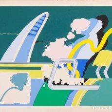 Arte: JOSE ANTONIO DAVILA - SERIGRAFÍA - 19/45. Lote 194518032