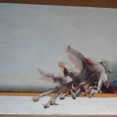 Arte: AHMED SHABABUDDIN (DHAKA, BANGLADESH, 1950) SERIGRAFÍA 90X63CMS DE 1992 COI FIRMADA LÁPIZ Y 38/250. Lote 194595960