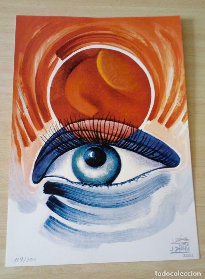 PEPE DÁMASO EDICIÓN SERIGRÁFICA NUMERADA LIMITADA Y FIRMADA 2002 (Arte - Serigrafías )